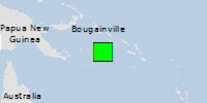 Scossa di terremoto a Gizo, Isole Salomone