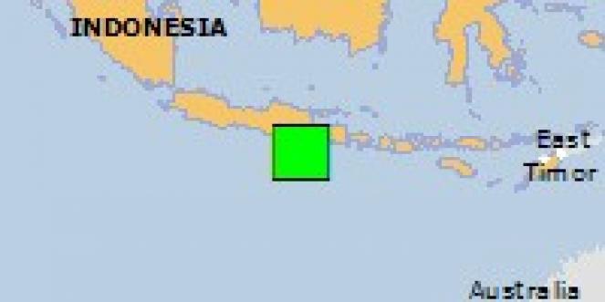 Scossa di terremoto a Donomulyo, Indonesia