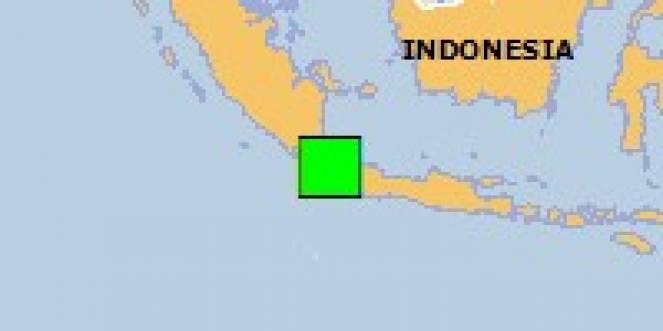 Scossa di terremoto a Rangkasbitung, Indonesia