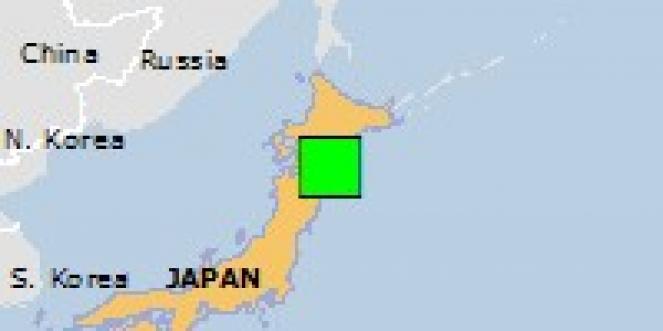 Scossa di terremoto a Mutsu, Giappone