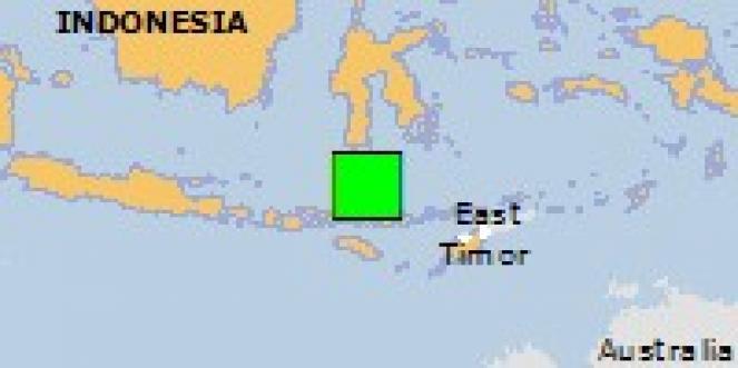 Scossa di terremoto a Senggapi, Indonesia