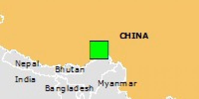 Scossa di terremoto a Coka, Repubblica Popolare di Cina