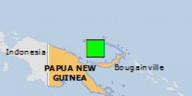 Scossa di terremoto a Patusi, Papua-Nuova Guinea
