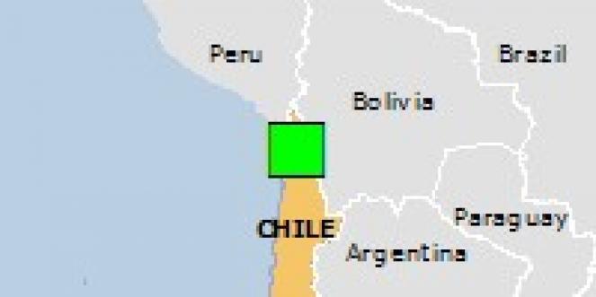 Scossa di terremoto a Todos Santos, Bolivia