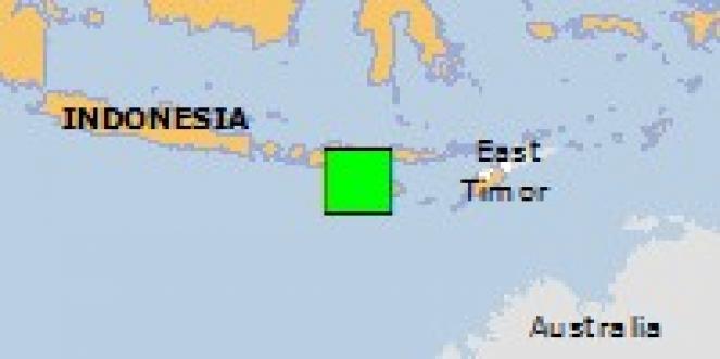 Scossa di terremoto a Bondokodi, Indonesia
