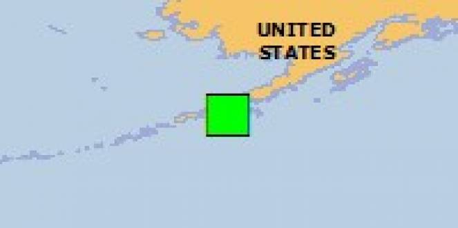 Scossa di terremoto a Sand Point, Stati Uniti d'America