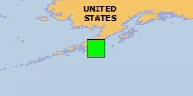 Scossa di terremoto a Chignik, Stati Uniti d'America