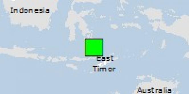 Scossa di terremoto a Pasar Wajo, Indonesia