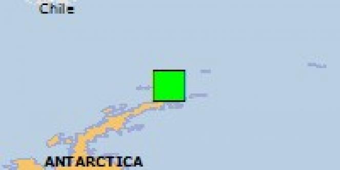 Scossa di terremoto a Puerto Williams, Cile
