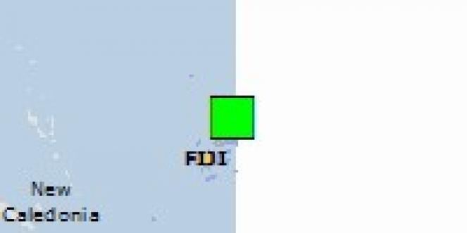 Scossa di terremoto a Labasa, Fiji