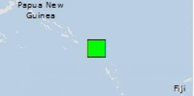 Scossa di terremoto a Lata, Isole Salomone