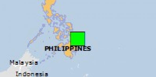 Scossa di terremoto a Cortes, Filippine