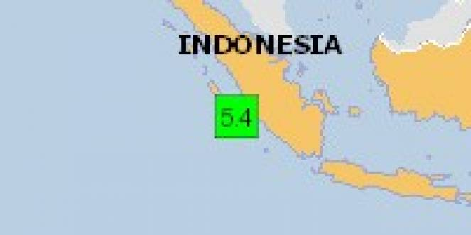 Scossa di terremoto a Mukomuko, Indonesia
