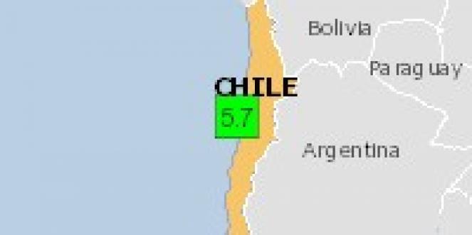 Scossa di terremoto a Taltal, Cile