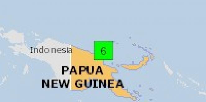 Scossa di terremoto a Madang, Papua-Nuova Guinea