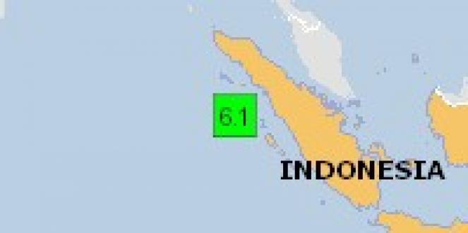 Scossa di terremoto a Onolimbu, Indonesia