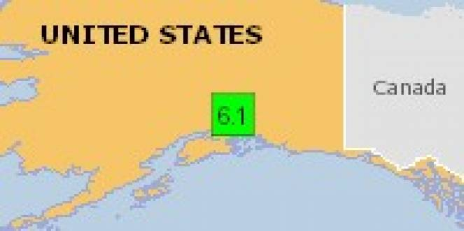 Scossa di terremoto a Tahneta Pass Lodge, Stati Uniti d'America