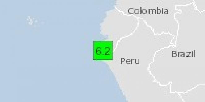 Scossa di terremoto a Sullana, Perù
