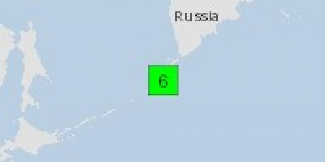Scossa di terremoto a Vilyuchinsk, Russia