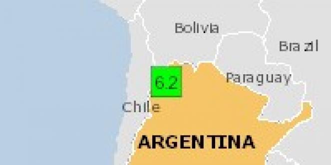 Scossa di terremoto a San Antonio de los Cobres, Argentina