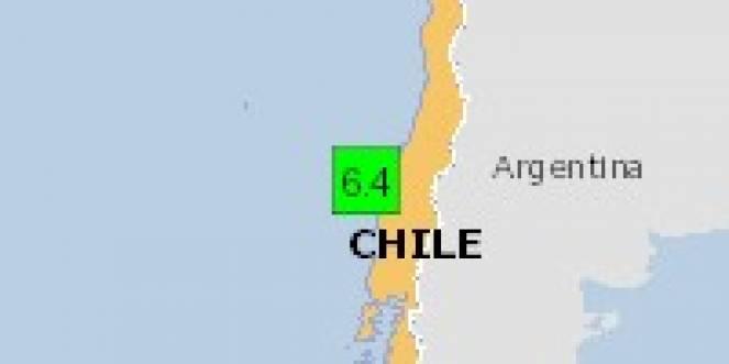 Scossa di terremoto a Arauco, Cile