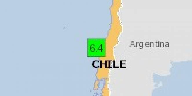 Scossa di terremoto a Talcahuano, Cile
