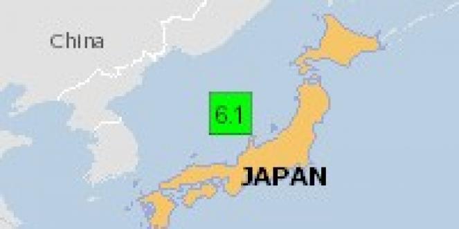 Scossa di terremoto a Nanao, Giappone
