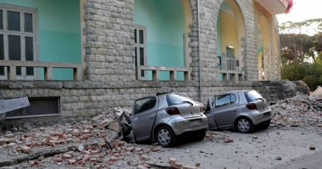 Terremoto in Albania, danni gravi a diversi edifici, 43 feriti