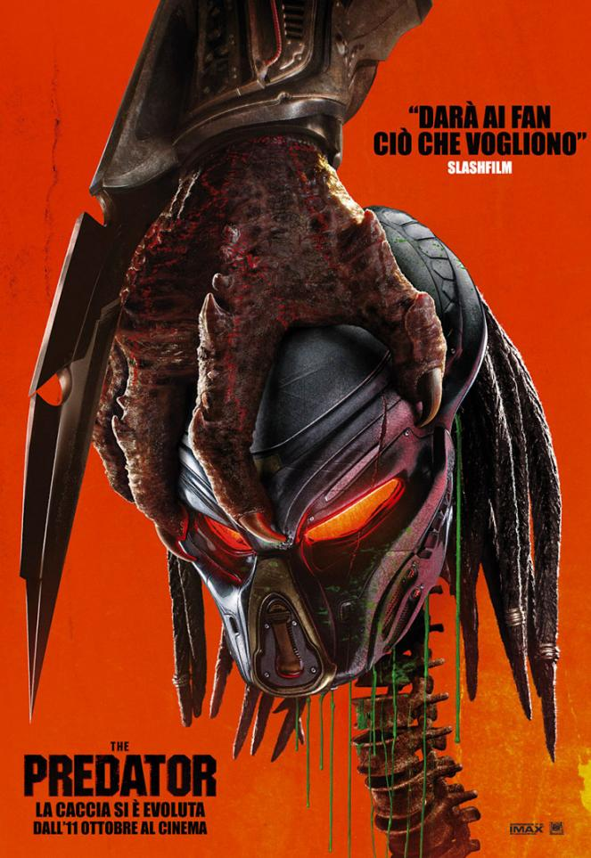 The Predator: la locandina