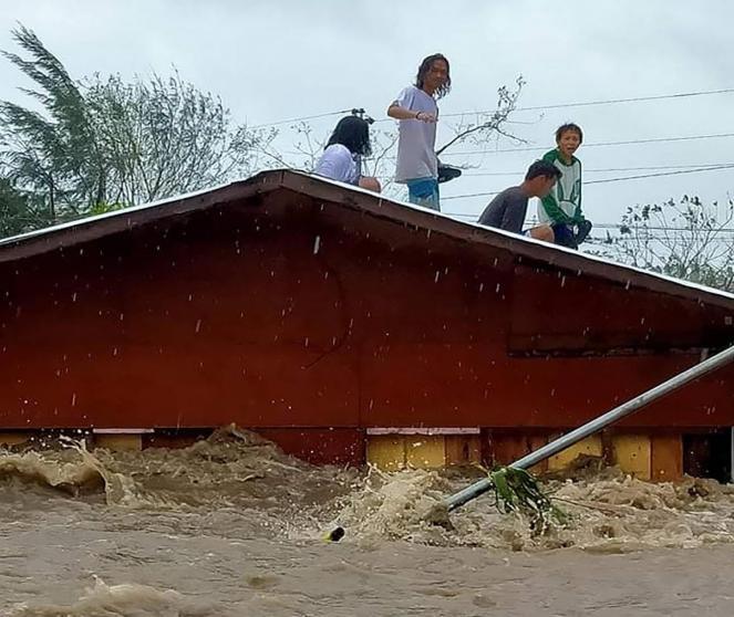 Tifone Goni si abbatte sulle Filippine, ci sono le prime vittime