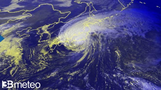 tifone Hagibis raggiunge il Giappone