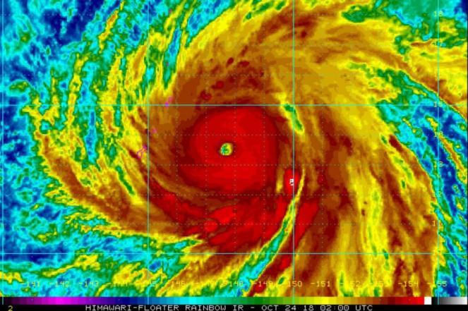 Meteo Estremo: Uragano Willa si avvicina alle coste del Messico