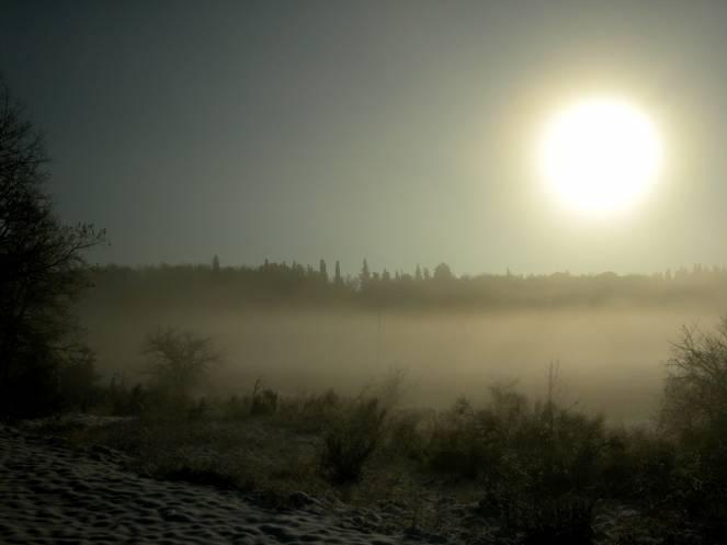 tipica nebbia da irraggiamento