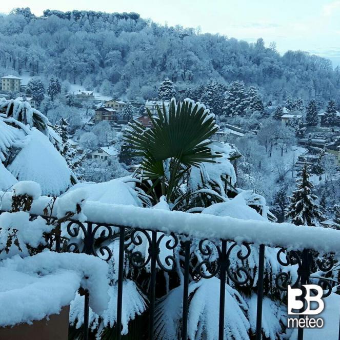 Torino collina, dopo la nevicata di mercoledì