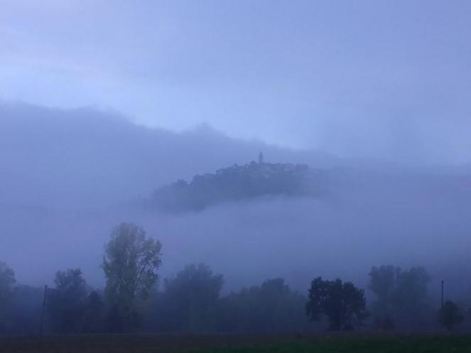 Torna la nebbia in pianura e nelle valli