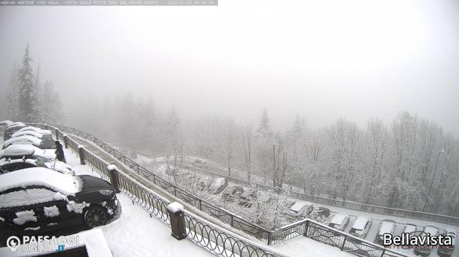 Torna la neve sull'Abetone