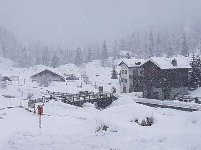 Torna un po' di neve da venerdì