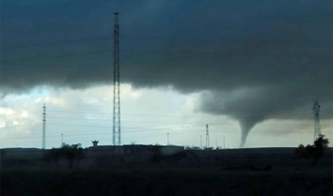 Tornado a Santa Maria (Andalusia) 5 Marzo 2018