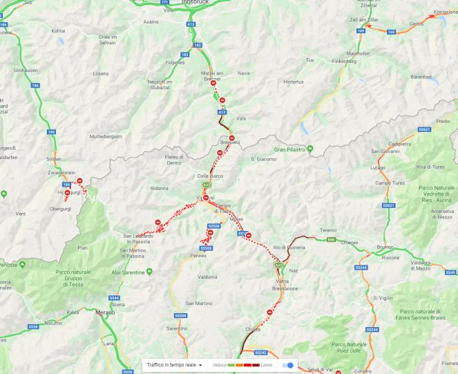 Cronaca meteo diffuso maltempo in italia tanta neve for Traffico autostrade in tempo reale