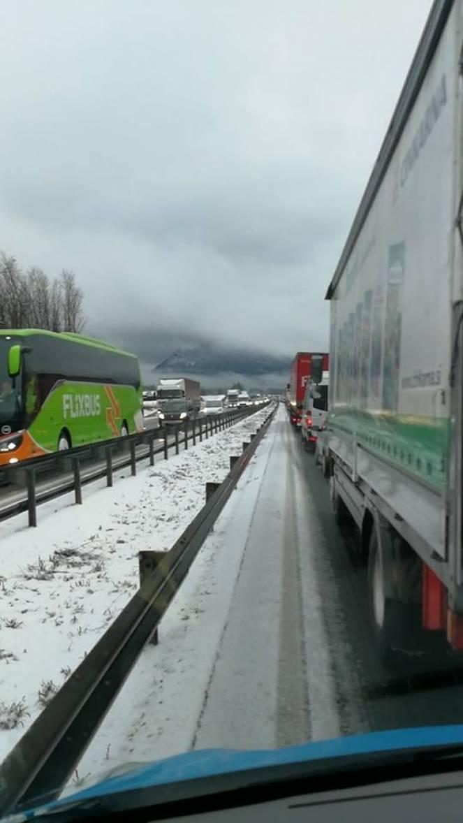 Traffico in tilt in Slovenia