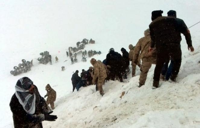 Turchia due valanghe in successione causano almeno 38 vittime sulle montagne