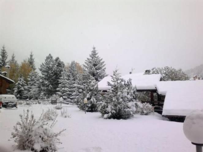 Un po' di neve in arrivo in montagna