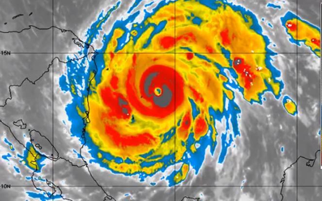 uragano Iota, secondo major in questo mese di novembre