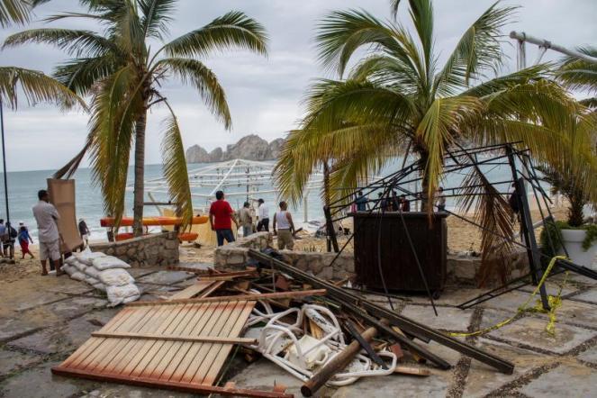 Uragano Newton, almeno due vittime in Messico