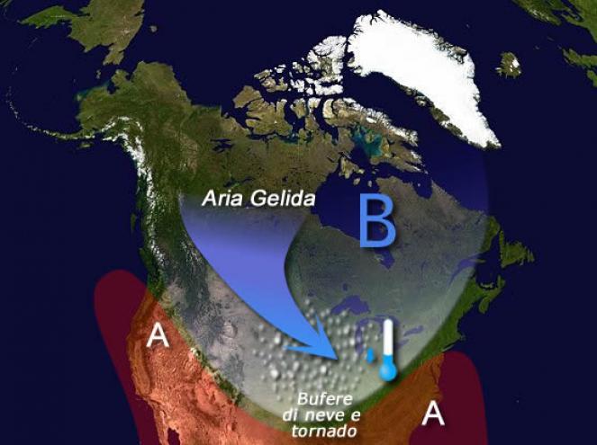 USA: in vista irruzione polare che potrebbe essere storica per Ottobre