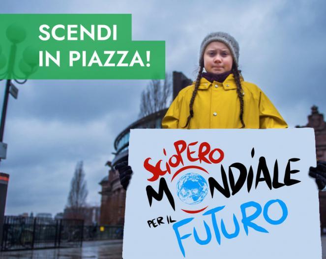 Venerdì 15 Marzo 2019, sciopero generale per il clima. Scendi in piazza anche tu!