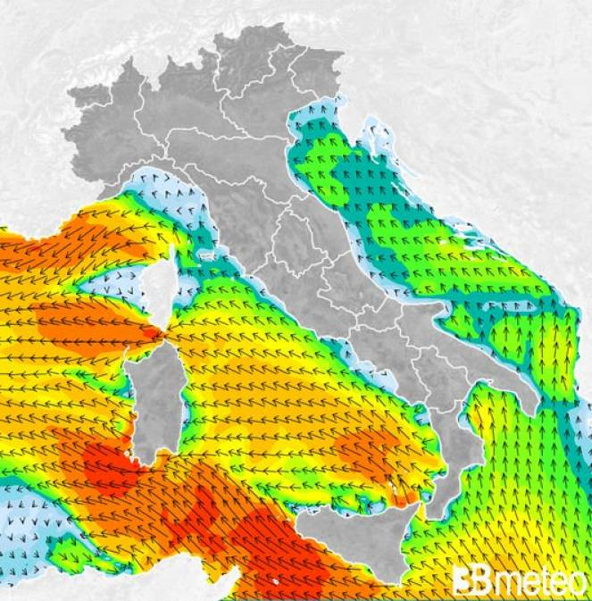 In Sicilia soffia il vento di scirocco, Pasqua tra 24° e 25°