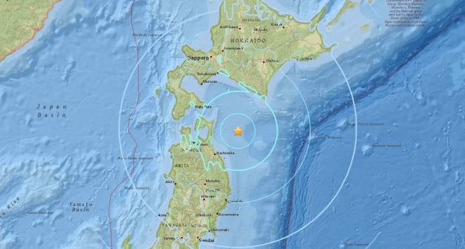 Violenta scossa di terremoto in Giappone