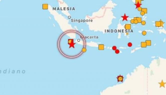VIOLENTO TERREMOTO in INDONESIA: allerta TSUNAMI