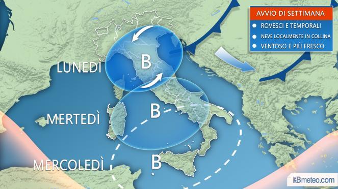 Meteo, autunno shock: Italia sotto zero con Attila. Piogge e neve